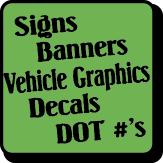 Decals, Banners, Signs & More